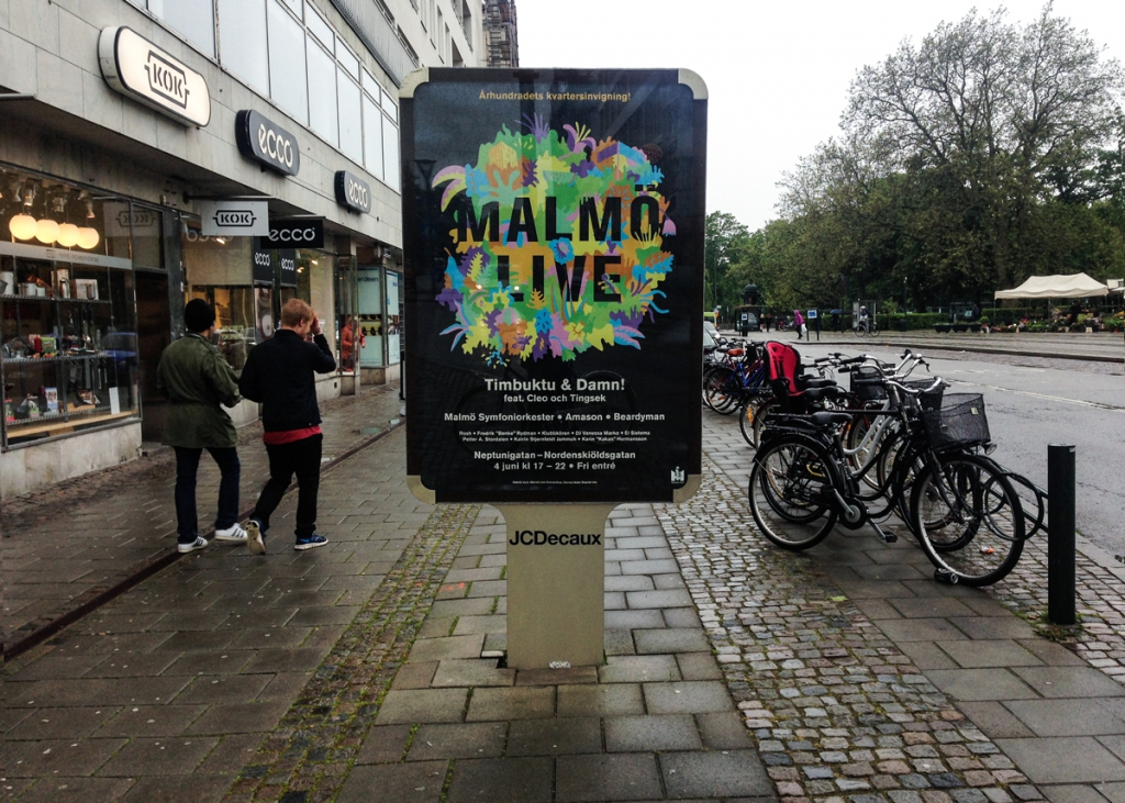 Ivar Lantz Malmö Live – Kvartersinvigning